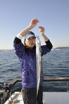 これもぶっ込みのヒイカのえさに・・ 太刀魚