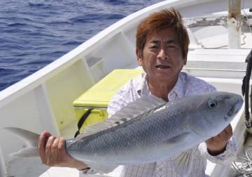 高級魚のアオマチ