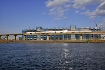 羽田の新国際ターミナルもかなりでき上げってきている