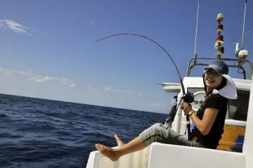 東京湾で釣っているライトタックルの琴ちゃん専用の竿はかなり強い