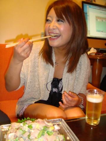 自宅でアジとサバで・・・マコちゃんの彼女もアジのタタキに感激!!