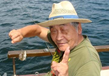 潮干狩りから釣りに・・・山口さん
