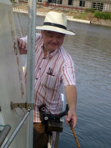阿佐美さん・・・唯一浮木釣りで!