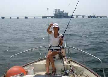 コチに興味がなくミヨシでキスを・・・50匹釣りました!!