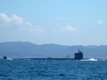 潜水艦も・・・