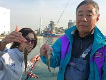 斉藤さんと琴ちゃんダブルヒット・・・大きいのは20cmありました