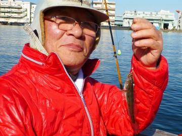 病上がりの初釣りはちょっと残念な釣果・・・吉川さん