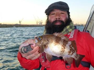 28cmのメバル・・・ジャッキーは美味い魚を狙っているのかな?