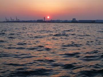 川崎に夕日が沈むと・・・期待大