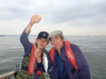 息子と二人・・・村さん 今日はアルコールも控えめです!