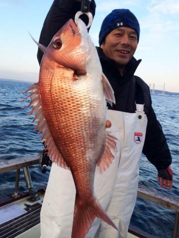 村田さん 昨年末に続いて確実にヒット・・・55cm