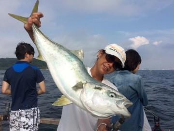 4.5kgのワラサ・・・今季初もの・・・猿島沖