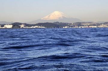 富士山は雪化粧・・・綺麗でした!