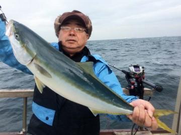 71cm3.9kgの立派なワラサ・・・邑並さん・・・ハリス2.5号ハリマダイ7号