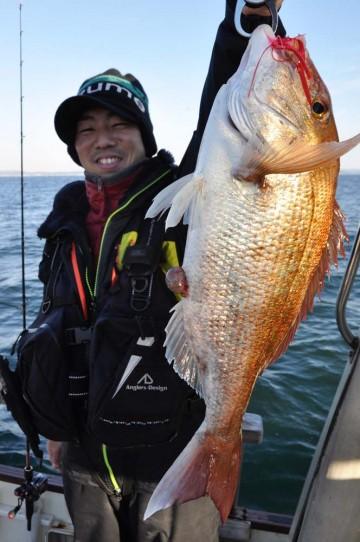 最後の最後に2.3kgを柿沢さんがヒット・・・!