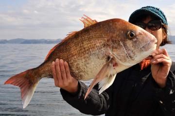 潮止まり間際に3.56kg・・・・