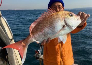 船長も2.34kg・・・!
