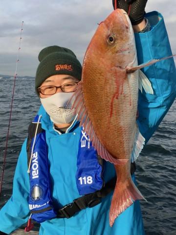 きました・・・長谷川さんおめでとう・・・2.89kg