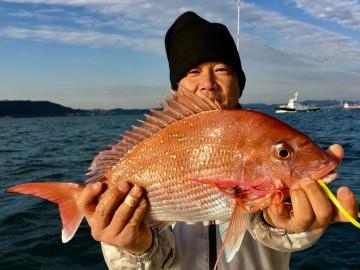 続いて梶井さんに・・・1.63kg