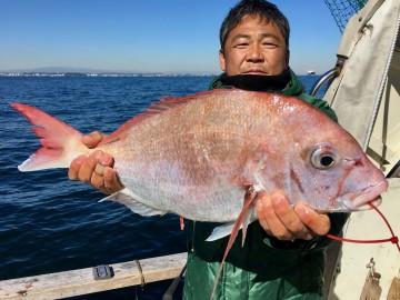 梶井さんに2.55kg・・・待ちに待ったピンク!