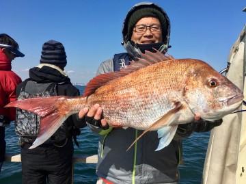 久しぶりに見る大型・・4.74kgは萩さんに・・・!