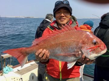 3.67kg・・・石田さん記録更新か!