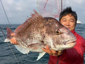 5.06kgの立派なオス・・・梶井さんやったね・・・!