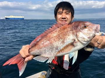男性全滅かと思ってたら最後の最後の2.22kg・・上州屋入谷店の川尻さんやりました
