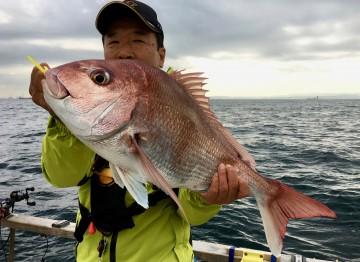 長期出張から帰京して初めてのタイラバは3.52kg・・・倉田さんやりました!