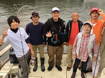 元気に頑張ったハツヨさん(76才)釣れなくてごめんなさい!