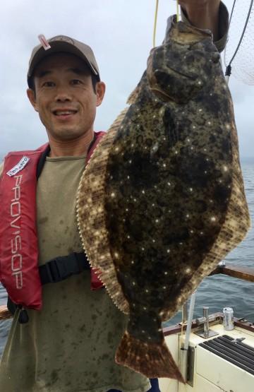 なんと53cmのヒラメが・・・神戸さん・・良かったです・・・!