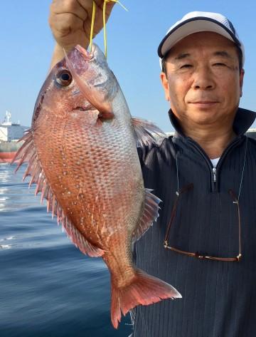 倉田さん 880g・・・きれいなピンク・・・!