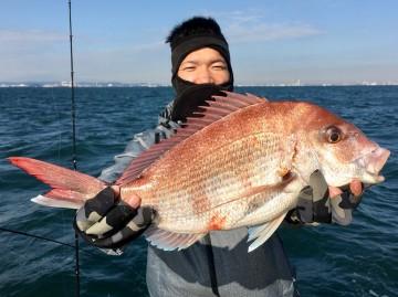 小倉さん・・・1.90kg・・・綺麗なピンク・・!
