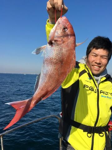 藤田さん・・・3枚目は1.80kg・・・!