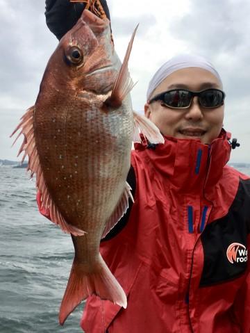 上杉さん・・・1.06kg・・・綺麗なピンク・・・!
