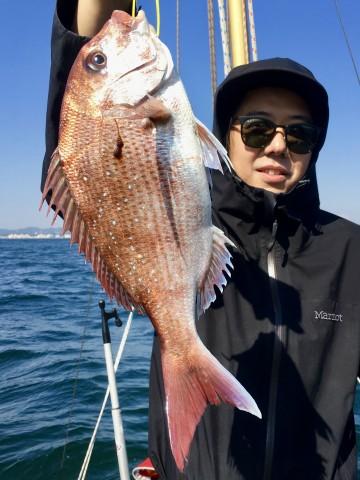 950g・・・綺麗なピンク・・・中村さん・・・!