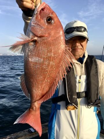 浜ちゃん・・・綺麗なピンクは1.66kg・・!