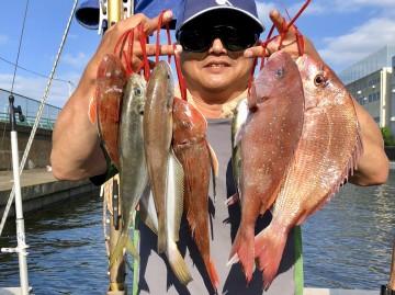 心を無にしてマキマキに専念したそうです・・・すごい魚種の星川さん