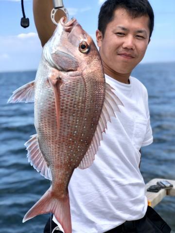 石川さん・・・3発目は1.15kg・・・!