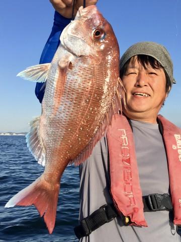 後藤さん・・・1.01kg・・・綺麗なピンクです・・!