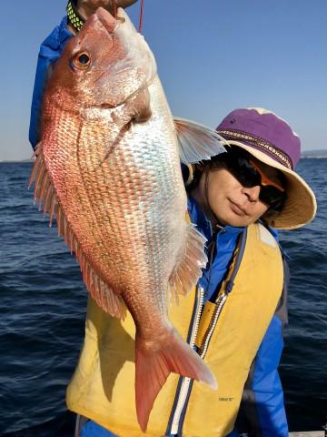 小泉さん・・・1.66kgをヒット・・・!