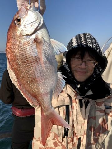 2.36kg・・・!  釣ってます・・・!