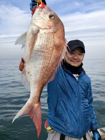 浜崎さん・・・ヤッタネ・・・3.52kg・・・!