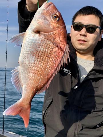 久しぶりの鈴木さん・・・1.11kg・・・やりましたね!
