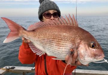 1.95kg・・・綺麗なピンクです・・・!