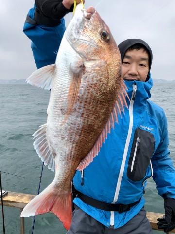 朝倉さん・・・2.82kg・・・良いタイです・・・やったね・・・!