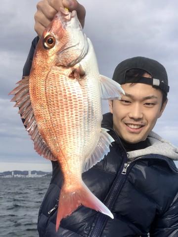 増田さんい綺麗なピンクが・・・700g・・・!