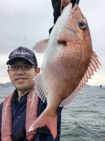 陣崎さん・・・770gの綺麗なピンク・・・!