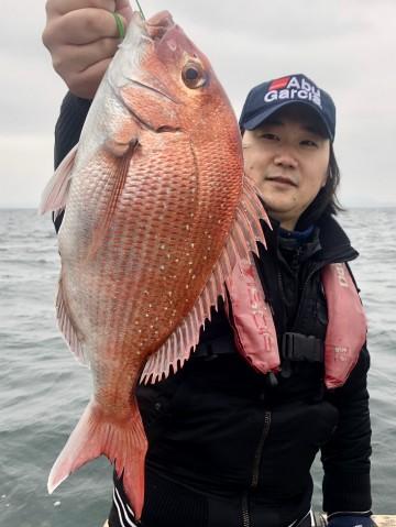 宮崎さん・・・1.17kg・・・ラパラのニューロッドで・・