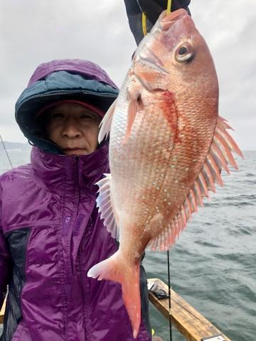長沼さんに770gの美味しいサイズ!!